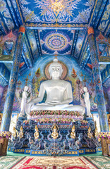 Rong Sua Ten temple, Chiangrai Province, Thailand