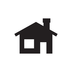 house building icon illustration