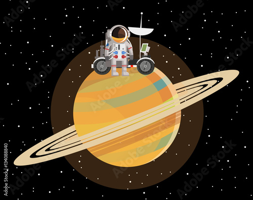 astronauts on saturn - photo #43