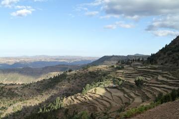 Dörfer und Bauernhöfe in Äthiopien