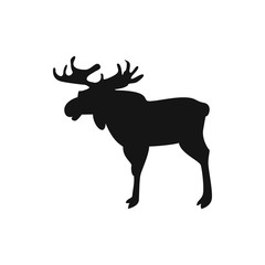 moose icon illustration