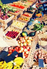 fruits and veggies store
