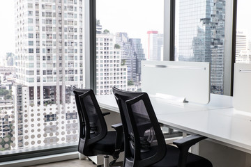 Modern office with open space to work
