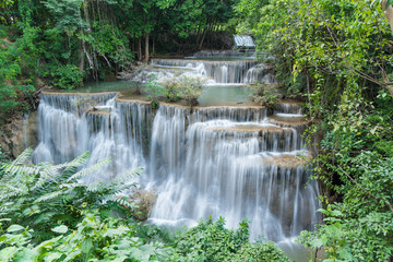 Printed roller blinds Waterfalls Huay Mae Kamin Waterfall Park