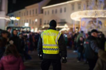 Polizist auf Nachteinsatz