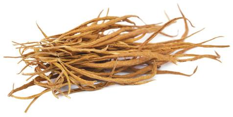 Dry Cannabis leaves