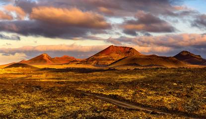 Parc national des volcans à Lanzarote