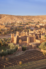 Early morning light on Ait Ben-Haddou, Morocco