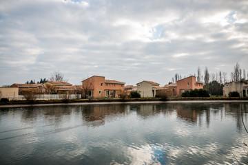 La Sorgue à Saint-Saturnin-lès-Avignon,