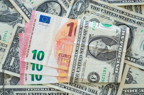 dollars and euro money immagini e fotografie royalty free su file 134139881. Black Bedroom Furniture Sets. Home Design Ideas