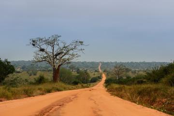 Estrada africana para o infinito