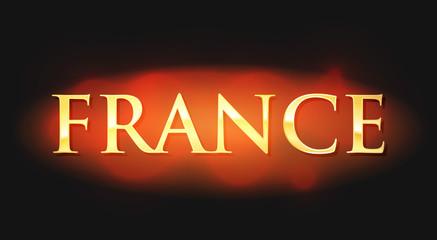 France - Golden Caption