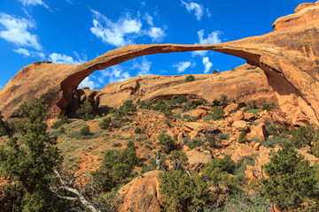 Skyline Arch. Arches National Park. Utah.