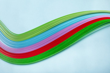 colorful paper quilling