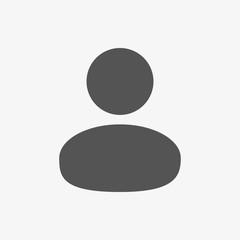 Man icon stock vector illustration flat design