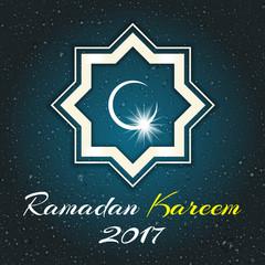 Ramadan Kareem, vector illustration