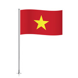 chinese vector flag template. waving flag of china on a metallic, Powerpoint templates