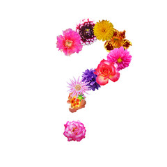 Flower Question Mark