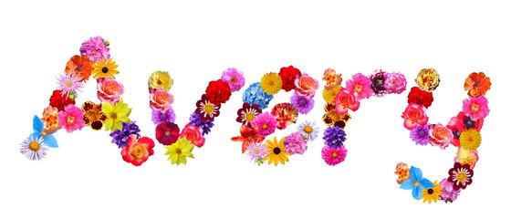 Flower Name Avery