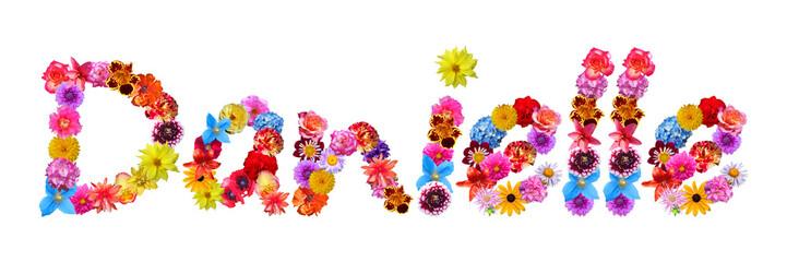 Flower Name Danielle