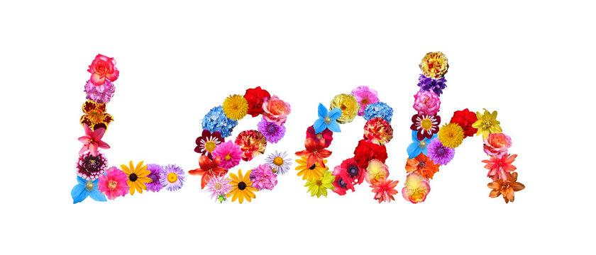 Leah Flower Name