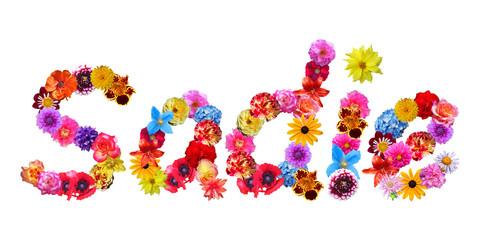 Sadie Flower Name
