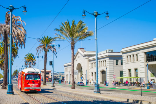 San Francisco Embarcadero Street