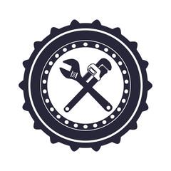 Under construction tool icon vector illustration graphic design