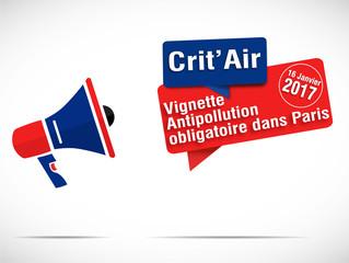 mégaphone : crit'air