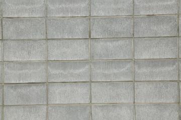 ブロック塀 背景 Wall made of blocks background