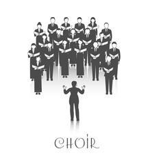 Choir Peroforrmance Black Image