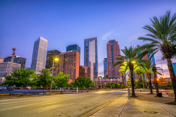 Fotomurales - Downtown Houston skyline
