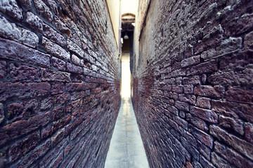 Wall Murals Narrow alley Venice, Italy