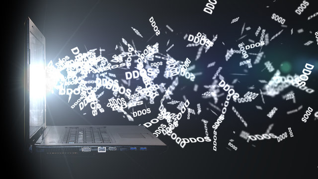 DDoS attack on the data warehouse Server. Cloud storage
