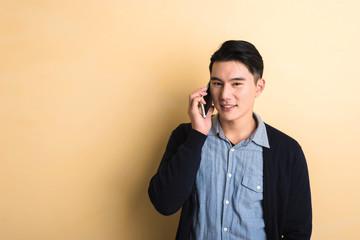man talk on phone