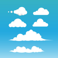 Clouds Vector