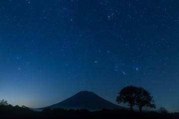 Orion & Starry sky in NISEKO ニセコの星空と羊蹄山