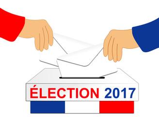 élections France 2017 urne