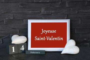 Joyeuese Saint-Valentin
