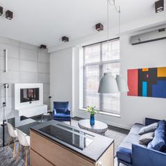 Home with open floor plan