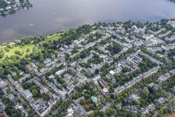 Hamburg - Germany from above