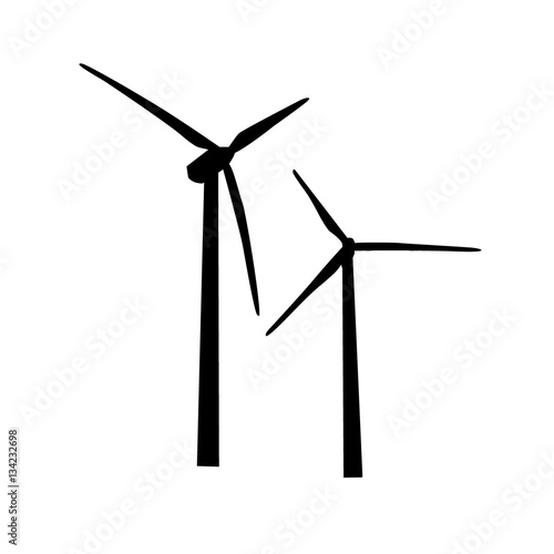 u0026quot icon of wind turbine  vector u0026quot  stock image and royalty-free vector files on fotolia com