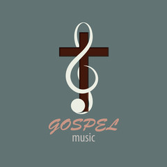 Logo Gospel Music