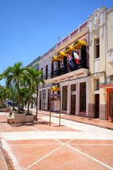 Historisches Gebäude in Cienfuegos, Kuba