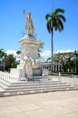 Jose Marti Statue im Parque José Marti, Cienfuegos, Kuba