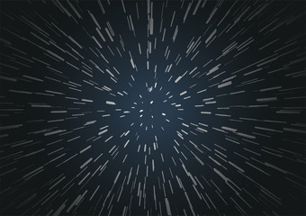 Hyperspace speed travel background