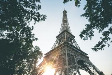 Evening Light at Tour Eiffel - Paris