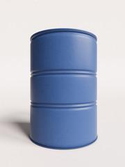 Plastic barrel. 3D illustration