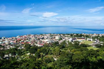 Karibik - Leeward Islands - Dominica  - Roseau - Morne Bruce