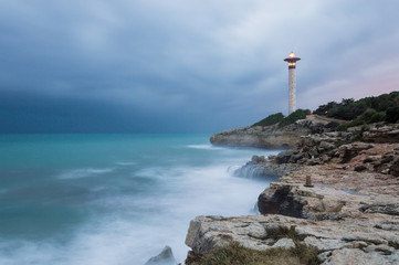 Lighthouse at Torredembarra